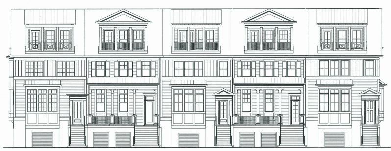 townsend place JWH Daniel Island front elevation